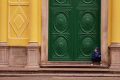 Igreja Sao Domingos 3 (luco*) Tags: door old architecture lady femme chinese igreja lanterns porte macau sao portuguese domingos vieille lanternes macao patrimoine portugais portugaise chinoises flickraward flickraward5