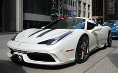 Ferrari 458 Speciale (SPV Automotive) Tags: white sports car ferrari exotic coupe supercar speciale 458