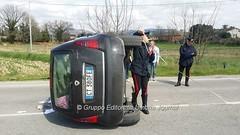 Incidente in via Hochberg a Bastia Umbra (21) (Gruppo Editoriale UmbriaJournal) Tags: bastia incidente