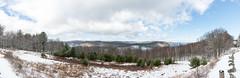 enfieldlookoutpano2016-2 (gtxjimmy) Tags: panorama snow water spring nikon massachusetts newengland supply ware belchertown quabbinreservoir d600 nikond600