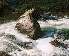 Watersmeet (Carl Hall Photography) Tags: mamiya water river landscape kodak devon portra watersmeet rb67 mamiyarb67 portra400 mamiyasekorc127mmf38 ukfilmlab ukfl