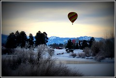 *flying heavenly high in colorado* (^i^heavensdarkangel2) Tags: winter season colorado hotairballoon pagosasprings winterfest 2016 colorfulcolorado heavensdarkangel winterballoon desbahallison heavensdarkangel2 heavenlyhotairballoons winterflyinginhotairballoon winterfest2016