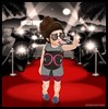 Always have time for the Fans w/ T&T (delisadventures) Tags: red celebrity lady fun carpet lights star famous fame cameras hollywood teacups paparazzi fans awards gaga tiaras flashes kardashian ladygaga