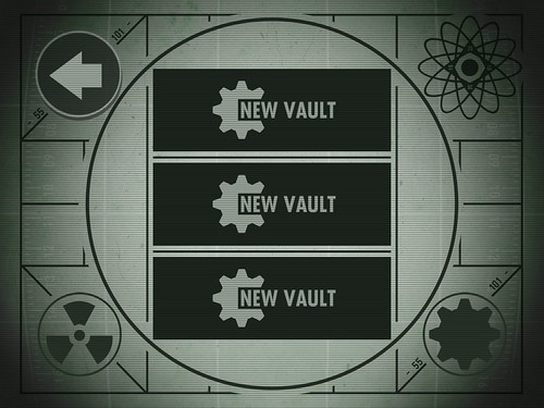 Fallout Shelter Main Menu: screenshots, UI
