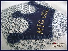 coros urso rei (Joanninha by Chris) Tags: baby azul handmade artesanato beb bordado ursinho enxovalbebe enxovalmenino aplicaodetecidos
