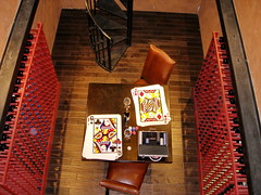 Viaggio Winery 2 (mfnure31) Tags: california staircase chip playingcard winerack winecellar acampo gamblingtable viaggiowinery
