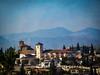 Morning in Granada (Colormaniac too) Tags: city morning urban landscape spain colorful mood cityscape scenic scene textures granada andalusia flypaper