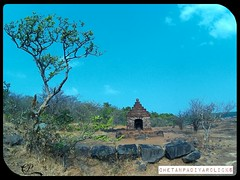 Ganesh Temple @ Rangana Fort (chetan2005is) Tags: travel mountain tourism forest trek fort jungle greenery maharashtra sahyadri shivaji konkan kokan kolhapur westernghat rangana raangana