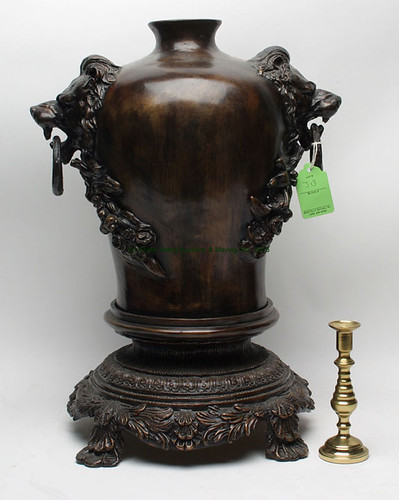 Wildwood Urn w/ Lion Handles $154.00 - 9/11/15