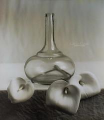 Calas (still life) (CarlosConde/Photography) Tags: bw stilllife film glass sony voigtlander 14 negative bodegn calas 58mm nokton vidrio blanconegro virado pelcula ilce7m2