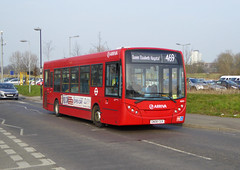ASC 4003 - GN08CGX - WOOLWICH QE HOSPITAL - SAT 12TH MAR 2016 (Bexleybus) Tags: road london hospital kent elizabeth stadium queen route southern 200 dennis common woolwich enviro counties tfl arriva adl thameside 469 4003 gn08cgx