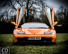 Diablo (cdunne3697) Tags: orange logo kent doors kit diablo lamborghini kitcar lambo detling kentkitcarclub
