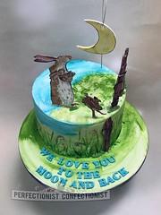Guess How Much I Love You Birthday Cake (PerfectionistConfectionist) Tags: christeningcake namingdaycake noveltycakedublin guesshowmuchiloveyoucake celebrationcakeswords