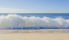 decrescendo (Keith.CA) Tags: ocean sea summer beach seaside sand surf wave seashore easthampton crashingwave