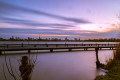 Sunset@Kralingse plas (Wessel...) Tags: longexposure sunset netherlands canon zonsondergang rotterdam nederland lee goldenhour kralingen kralingseplas