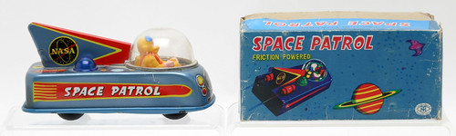Space Patrol Friction Toy w/ Box ($121.00)