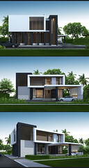 BOX House (Taweesak Boonwirut) Tags: camera longexposure family light sunset sky house building home up architecture night facade dark lens landscape idea design town sketch 3d twilight construction pattern cityscape nightscape outdoor render space perspective creative dramatic wideangle architectural professional architect motionblur villa sketchup presentation concept visualization residential advanced countryhouse skp artlantis artlantisstudio facadedesign artlantisstudio5