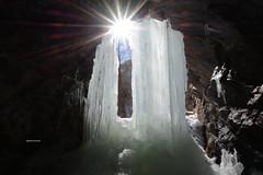Cascata di ghiaccio - Ritom (Photo by Lele) Tags: ticino fotografia sole marzo daniele ghiaccio riflesso cascata 2016 leventina ritom maini