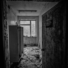 Raum (naturalbornclimber) Tags: urban bw decay radiation nuclear ukraine hasselblad disaster medium format exploration bnw zone chernobyl exclusion urbex tschernobyl pripyat hasselblad503cx prypjat