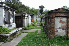 New Orleans - Sealed (Drriss & Marrionn) Tags: usa cemetery grave graveyard concrete outdoor neworleans headstone tomb graves funeral mausoleum granite sarcophagus burial marble tombs lafayettecemetery deceased gravefield vaults crypts neworleansla