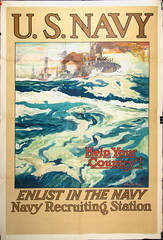 Navy Recruitment Posters (Madison Historical Society) Tags: old usa history museum poster photo interesting nikon image connecticut interior military country wwi picture newengland ct places indoor worldwari madison historical inside greatwar firstworldwar route1 mhs conn 1stworldwar d600 bostonpostroad nikond600 leeacademy madisonhistoricalsociety madisonhistory bobgundersen
