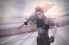 Zack - F.F. (GC Frame Photography || Glen ||) Tags: anime art japan nikon f14 manga videogames final fantasy 24mm ade hercules 2016 romics sgima d5100