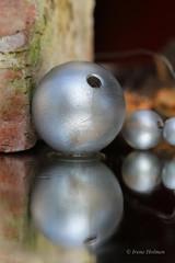 Slvkule (irene.holmen) Tags: reflection silver ball speil kule speilbilde speiling slv