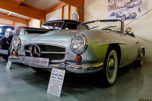 Mercedes-Benz 190SL Cabrio W121 (1959)