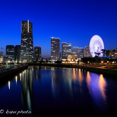 Bluehour YOKOHAMA (kazu photo) Tags: bluehour    bluemoment