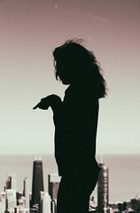 - V A L E R I A - (Lorenzo Mazzotti) Tags: street chicago girl analog photography eos photo reflex valeria skydeck 6d 24105
