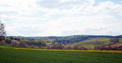 bunt (glaserei) Tags: panorama wiese himmel bunt odenwald
