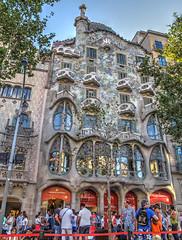 Barcelona (Ana >>> f o t o g r a f  a s) Tags: barcelona espaa spain espanha catalonia gaud catalunya modernismo hdr catalua spanien casabatll spagna spanje spania antoniogaud antonigaud spagne photomatix manzanadeladiscordia tonemapped modernismocataln spanya modernismecatal canong12 potd:country=es