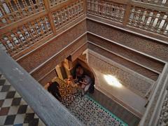 Ben Youssef Madrasa (rouxlignes) Tags: ben morocco marrakech mor marrocos marr youssef madrasa