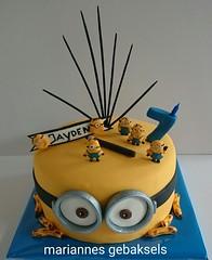 #minion #taart #cake #mariannes #gebaksels 1 (mariannes gebaksels) Tags: cake friesland minions taart minion bananana mariannes gebaksels mariannesgebaksels