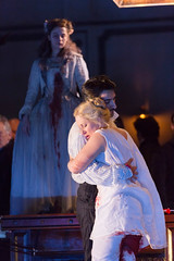 Diana Damrau, Charles Castronovo in Katie Mitchell's Lucia di Lammermoor ©2016 ROH. Photograph by Stephen Cummiskey (Royal Opera House Covent Garden) Tags: music opera coventgarden royaloperahouse royalopera donizetti luciadilammermoor charlescastronovo dianadamrau bykatiemitchell