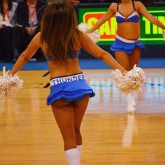 OKC Thunder (radargeek) Tags: basketball pom cheerleaders okc nba oklahomacity okcthunder