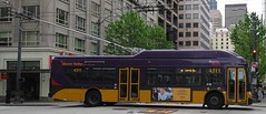 King County Metro 2015 New Flyer XT40 4311 (zargoman) Tags: seattle county travel bus electric king metro trolley transportation transit kiepe elektrik kingcountymetro newflyer lowfloor xcelsior
