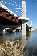 I-35 Road Bridge on the Brazos River (zeesstof) Tags: city bridge history architecture river texas waco brazos civilengineering texashistory riverbrazos zeesstof
