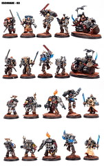 Escouade 3 - Thomas FARATCHE (T'as pas dix ds ?) Tags: spacemarines warhammer40000 gamesworkshop deathwatch deathwatchoverkill