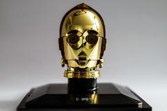 C-3PO (marcelo_valente) Tags: toy toys starwars flash masks fujifilm collectible c3po myfujifilm canon430exii xf35mm fujixe2 fujifilmxe2