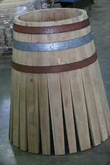 Barrel Half Done