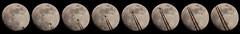 La Lune et l'avion - 19 avril 2016  21h17 (Didier Auberget) Tags: moon lune plane wow telescope astrophotography transit astronomy avion astronomie astrophotographie tlescope canoneos500d