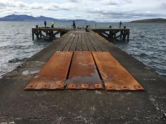 116 - hole no more (md93) Tags: clyde pier fishing fishermen hole steel plates ayrshire portencross 366 westkilbride