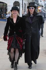Goth weekend (tezzerh) Tags: street people goth dracula