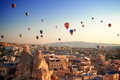 Balooning-in-Cappadocia-1 (katherineluzalfarolozano) Tags: sunrise turkey landscape nikon turkiye unesco hotairballoon ballooning cappadocia goreme uchisar fairychimney nevsehir d3s