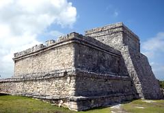 Pyramid El Castillo (The Castle) (Mal B) Tags: castle wall port mexico ruins pyramid maya tulum el mayan iguana trade castillo roo costal sites yucatanpeninsula quintana the obsidian qroo nikond600 juandaz pyramidelcastillothecastle 77780tulum precolumbianmayasitezama meaningcityofdawn zamameaningcityofdawn zamacityofdawn tulmyucatanmayanwordforfence wall1ortrench