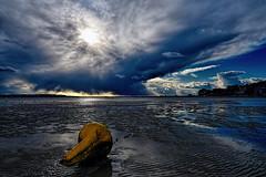 Apocalypse Over Poole (paulinuk99999 - just no time :() Tags: sunset snow storm ice rain clouds landscape spring harbour dorset april thunderstorm poole 2016 paulinuk99999