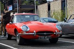 Jaguar E-Type (Series 1) 4.2 (Fido_le_muet) Tags: cars coffee car les 1 sunday series 24 jaguar tours avril meet monthly espace dimanche etype 2016 touraine malraux mk1 jou mki rasso rassemblement mensuel joulestours
