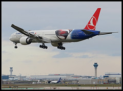 TC-JJN  Turkish Airlines  Batman v Superman livery Boeing 777-300 (Tom Podolec) Tags:  way this all image may any used rights be without reserved permission prior 2015news46mississaugaontariocanadatorontopearsoninternationalairporttorontopearson