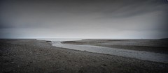 merged pano from river mouth Kilcoole (Wendy:) Tags: beach pano misc photomerge filters tiltshift kilcoole